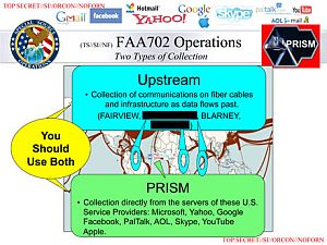 [NSA presentation, FAA702 operations, via Guardian-UK]