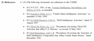 USSID 18 References