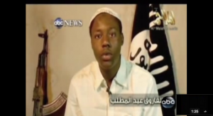 Abdulmutallab Video Martyr
