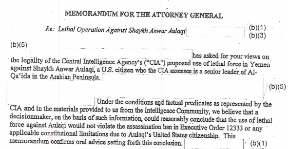 CIA Assesses