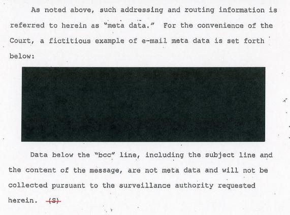 Fictional Metadata