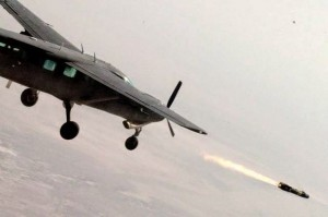 It turns out that the mighty Cessna can indeed fire Hellfire missiles!