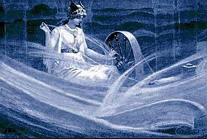 [image: Frigg Spinning Clouds, c. 1900, by John Charles Dollman via Wikimedia.org]