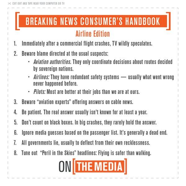 OnTheMedia_BreakingNewsConsumersGuideAirplaneEd_19MAY2016