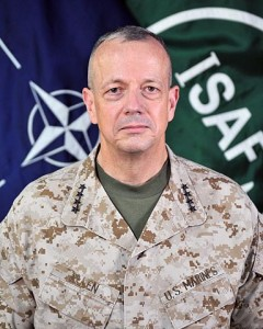 "After multiple mis-steps, General John Allen has ""chosen"" to ""retire"" rather than face a Senate confirmation to be head of NATO."