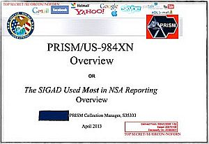[NSA presentation, title slide via Guardian-UK]