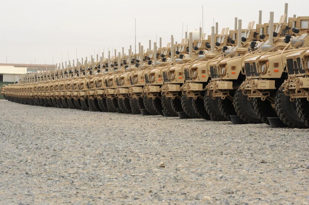 The CENTCOM Deployment & Distribution Operation Center and the Afghanistan retrograde