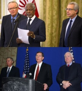 Can you tell the difference between diplomats and war mongers?