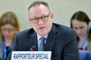Ben Emmerson, UN Special Rapporteur for counterterrorism and human rights. (UN photo)