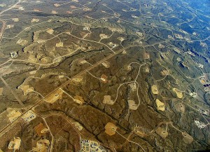 [Fracking sites, location unknown (Simon Fraser University via Flickr)]