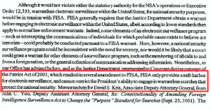 FISA Safe Harbor
