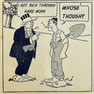 Panel of Maggie and Jiggs comic strip, undated.