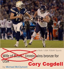 [Because the Chicago Bears figure largely to the Olympics...]