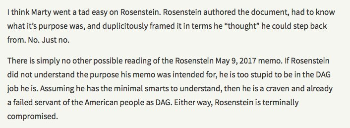 a letter for rod rosenstein to remember | emptywheel