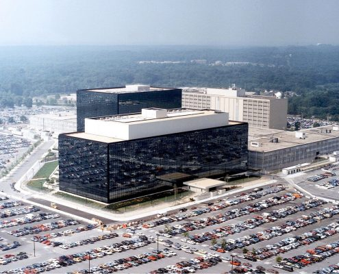 [Photo: National Security Agency, Ft. Meade, MD via Wikimedia]