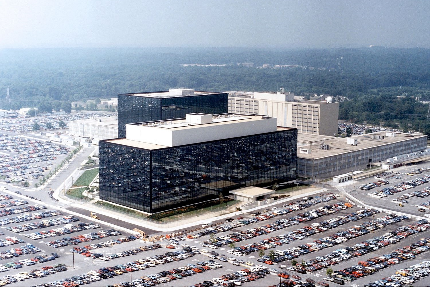 [Photo: National Security Agency, Ft. Meade, MD via Wikimedia]