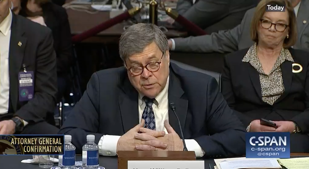 Even Bill Barr (in His Confirmation Hearing) Agreed that Trump Just Committed a Crime | emptywheel